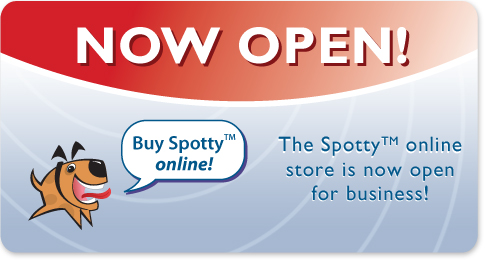 Spotty Dog Training online store now open!